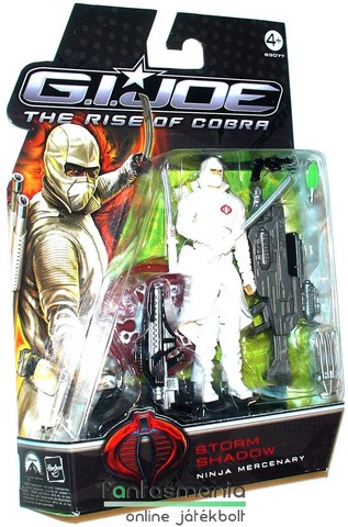 GI Joe figura - Storm Shadow / Viharárny