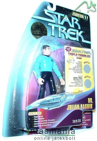 Star Trek Julian Bashir - tv mozi figura Playmates