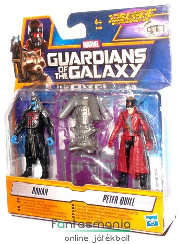 mini Galaxis Őrzői figurák - Ronan és Starlord - 2db Guardians of the Galaxy figura