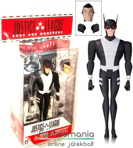 Justice League TAS - 16cmes Batman figura Gods and Monsters Kirk Langstrom Man-Bat megjelenésű, extra-mozgatható DC Comics figura