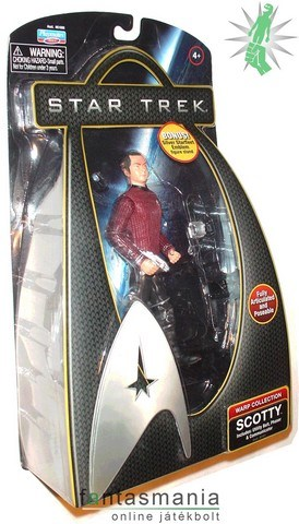 Star Trek figura 16cm Scotty mozi figura