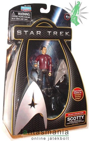 Star Trek figura 10cm Scotty mozi figura