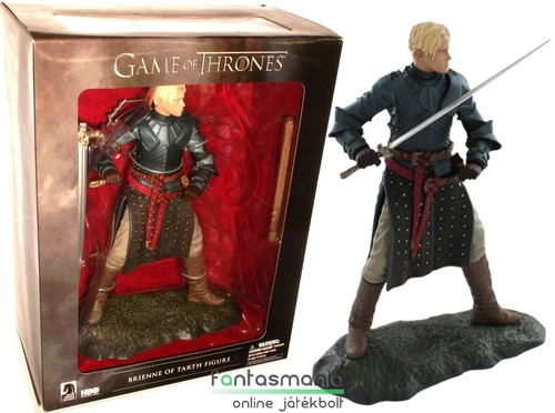 Trónok Harca figura - 16-20cmes Brienne of Tarth figura - Game of Thrones szobor figura talapzattal - HBO / Dark Horse