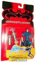 Batman figura - Mr. Freeze retro / vintage Batman ellenség figura - Batman & Robin - Kenner