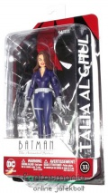 Batman figura - 16cm-es TAS Thalia al Ghul figura Batman The Animated Series klasszikus rajzfilm megjelenéssel - DC Direct / Entertainment gyűjtői figura