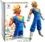 16cm-es Dragon Ball Z figura - Super Saiyan Vegeto / Vegito szobor figura Goku és Vegita fuzio - Banpresto DXF The Super Warriors Vol. 4 figura