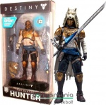 18cm-es Destiny 2 figura - Iron Banner Hunter Million Million Shader figura - McFarlane Toys Color Tops figura fegyverrel és alátehető talppal