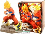 15cm-es Dragon Ball Z / Dragonball figura - Absolute Perfection Son Goku szobor figura sugárnyalábos talapzatos Banpresto figura