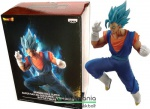 18cm-es Dragon Ball Z figura - In Flight Fighting 20cm Blue Vegito szobor figura talapzattal - Banpresto Dragonball Z figura replő-küzdő pózban