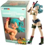 25cm-es Dragon Ball figura - Bulma gépfegyverrel - Dragonball Glitter and Glamours Banpresto Sexy Anime figura