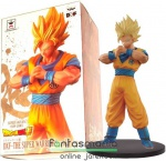 16cm-es Dragon Ball Z figura - SSJ2 Son Goku Super Saiyan szobor figura - Banpresto DXF The Super Warriors Vol. 5 figura