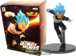 16-18cm-es Dragon Ball Z / Dragonball figura - Vegeta / Vegita Saiyan God kék hajú form - Banpresto Dragon Ball Super Broly Movie szobor széria