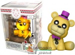 10cmes Funko POP figura FNAF Golden Freddy - Five Nights at Freddy's Arcade ülő pózos figura