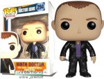 10cmes Funko POP figura Doctow Who / Ki vagy, Doki? 9th Ninth Christopher Eccleston 9. Doktor nagyfejű karikatúra figura