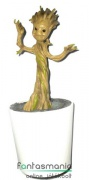 26cm-es Marvel Galaxis Őrzői - baby Groot szobor figura perselyes cseréppel - Guardians of the Galaxy figura
