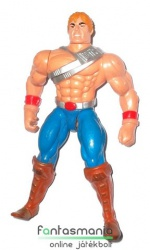He Man Masters Of The Universe figura - Battle Punch He-Man New Adventues 90s retro / vintage figura - csom. nélkül