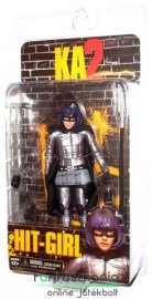 Ha/Ver / Kick-Ass figura - Hit-Girl figura fegyverekkel - NECA