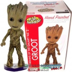 Marvel Galaxis Őrzői Gyerek Groot figura 18cm-es NECA Head Knocker Guardians of the Galaxy Vol 2. bólogató szobor figura talapzattal