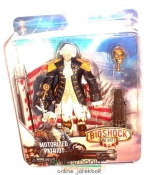 16-18cm-es NECA Bioshock figura Motorized Patriot George Washington - masszív Gamer / Videójáték figura - Csak 1 db