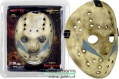 1:1 NECA Firday The 13th Part 5 New Beginning Péntek 13 Jason Vorhees Mask felvehető életnagyságú hokimaszk Prop Replica kék festéses változat