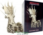 35cmes NECA Predtor Throne / Trófea Trón szobor - Predator Clane Leader Bone Throne Diorama Element