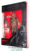 Star Wars Black Series figura - 10cm-es Chewbacca / Csubakka wookie figura fegyverrel - Csillagok Háborúja figura extra-mozgatható végtagokkal - nyitott csomagolásban