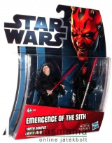 Star Wars figura - Darth Maul + Sidious / Palpatine figura duplacsomag - Ep1