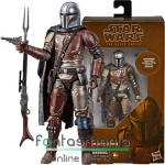 Star Wars figura 16-18cm-es Black Series The Mandalorian fejvadász figura Carbonized Graphite Collection különkiadás - sok ponton mozgatható Csillagok Háborúja figura - Hamarosan újra készleten!