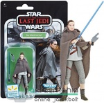 Star Wars figura Black Series - 10cm Rey Island Journey figura szövet palásttal - 2018 Vintage Collection Exclusive gyűjtői kidolgozású figura extra-mozgatható végtagokkal